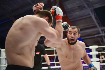 Evgeniy Kondratov vs Ruslan Khaskhanov, M-1 Challenge 44