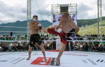 Александр Кутафин vs Муса Хамхоев, M-1 Challenge 95