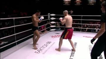 Натан Схоутерен vs Исмаил Сетинкай, M-1 Challenge 18