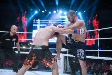 Гаджибаба Гаджибабаев vs Захар Попел, M-1 Challenge 97&Tatfight 7