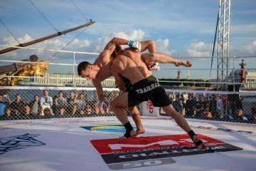 Марат Балаев vs Исаак Перез, M-1 Challenge 50