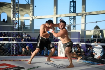 Сергей Куцый vs Акрамат Евкуров, M-1 Challenge 61