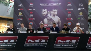 M-1 Challenge 105 Press-conference, October 18, Nur-Sultan, Kazakhstan