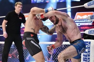 Магомед Идрисов vs Макс Кога, M-1 Challenge 57