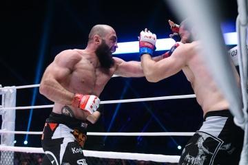 Себастьян Хайль vs Гига Кухалашвили, M-1 Challenge 85