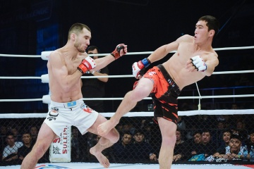 Бакытбек Дуйшобаев vs Сергей Морозов, M-1 Challenge Battle in Atyrau