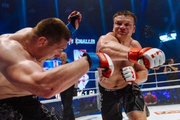 Daniil Arepyev vs Anton Vyazigin, M-1 Challenge 68