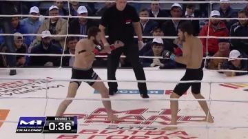 Юнус Евлоев vs Руслан Абильтаров, M-1 Challenge 40