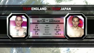Луис Андраде vs Ян Батлин, M-1 Challenge 14