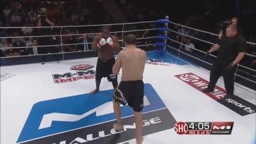 Кенни Гарнер vs Максим Гришин, M-1 Challenge 27