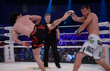 Рустам Гаджиев vs Ингисхан Оздоев, M-1 Challenge 52