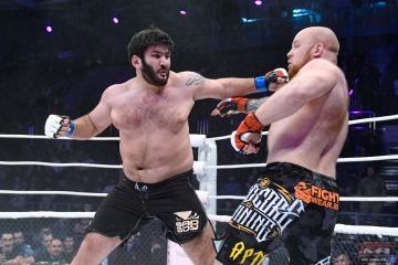 Заур Гаджибабаев vs Николай Савилов, M-1 Challenge 86