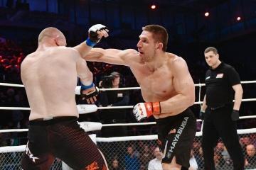 Рене Хоппе vs Илья Бочков, M-1 Challenge 76