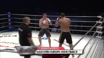 David Baziak vs Drazen Forgac, M-1 Selection 2010: Western Europe Round 3