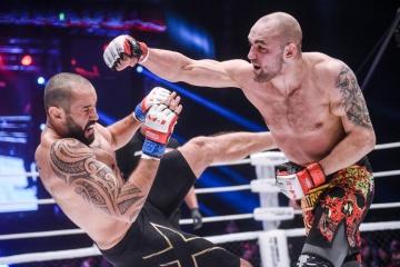 Joseph Henle vs Valery Myasnikov, M-1 Challenge 88