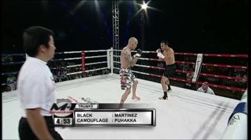 Дэвид Мартинез vs Нико Пухакка, M-1 Challenge 03