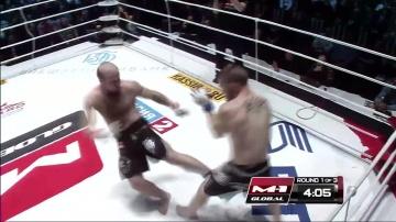 Юрий Ивлев vs Жером Буиссон, M-1 Global - Fedor vs. Monson