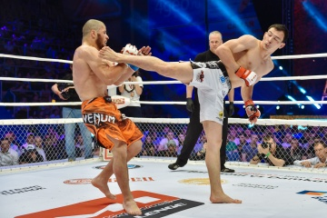 Рауль Тутараули vs Дамир Исмагулов, M-1 Challenge 66