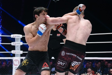 Абубакар Местоев vs Алексей Махно, M-1 Challenge 85