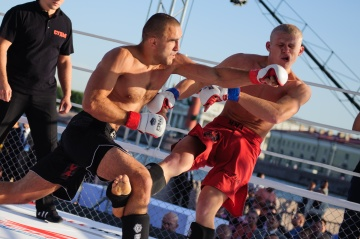 Сергей Андреев vs Максим Пугачев, M-1 Challenge 41