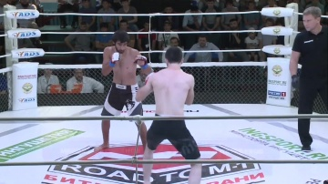 Магомед Алиханов vs Магомед Даурбеков, Road to M-1: Ingushetia 4