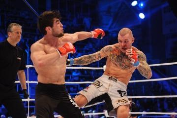 Муса Хаманаев vs Нико Пухакка, M-1 Challenge 37