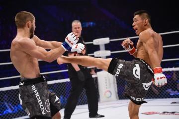 Хонгганг Яо vs Никита Чистяков, M-1 Challenge 53