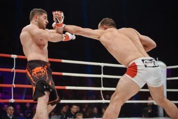 Сосо Нижарадзе vs Шамиль Алибеков, M-1 Challenge 55