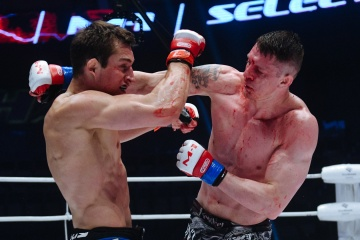 Денис Тюлюлин vs Руслан Шамилов, M-1 Challenge 92