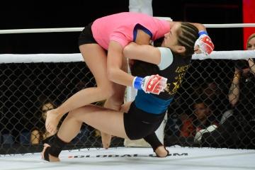 Zarina Gumerova vs Asiya Klyutova, M-1 Challenge 104
