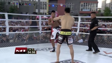 Jin Suk Jung vs Yong E, Road to M-1: China