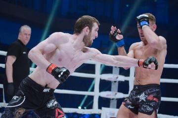 Микаэль Лебу vs Алик Албогачиев, M-1 Challenge 101