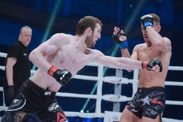 Mickael Lebout vs Alik Albogachiev, M-1 Challenge 101