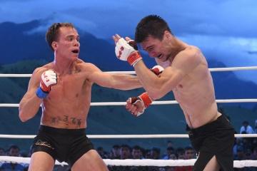 Нэйт Ландвер vs Хамзат Далгиев, M-1 Challenge 95
