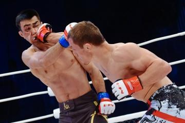 Эльнур Велиев vs Залимбег Омаров, M-1 Challenge 76