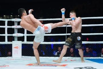 Данила Приказа vs Исатай Темиров, M-1 Challenge 105