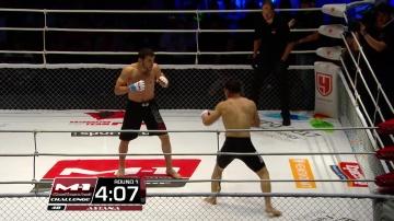 Анвар Амирли vs Серик Тлекеев, M-1 Challenge 48