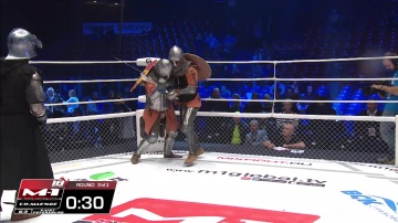Дмитрий Коврижин vs Евгений Беденко, M-1 Challenge 63, Medieval MMA