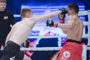 Pierre Ludet vs Asu Almabaev, M-1 Challenge 101