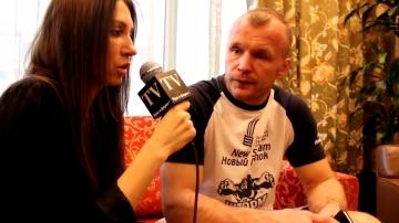 Александр Шлеменко. Интервью перед боем М-1