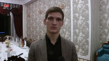 Movsar Evloev talks about his tactics, victory and fighting high in mountains