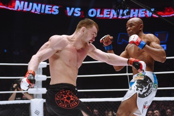 Сильмар Нуньес vs Олег Оленичев, M-1 Challenge 90