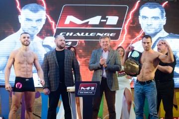 Взвешивание перед M-1 Challenge 84: Кунченко vs Романов