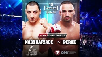Kristijan Perak vs Talekh Nadzhafzade fight promo, M-1 Challenge 72