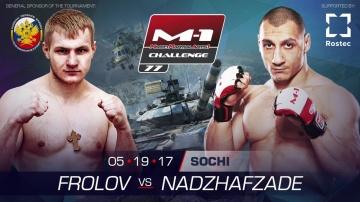 Talekh Nadzhafzade vs Artem Frolov promo before M-1 Challenge 77