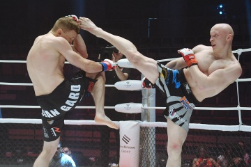 Борис Медведев vs Кирилл Мажара, M-1 Challenge 89