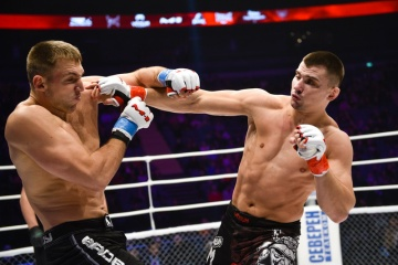 Артур Астахов vs Евгений Гурьянов, M-1 Challenge 54
