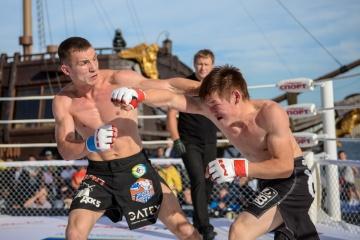 Антон Телепнев vs Артем Глыбчак, M-1 Challenge 50