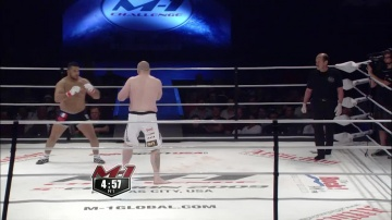 Роб Броутон vs Суфьян Элгарн, M-1 Challenge 16