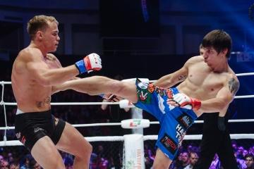 Нэйт Ландвер vs Михаил Коробков, M-1 Challenge 83&Tatfight 5